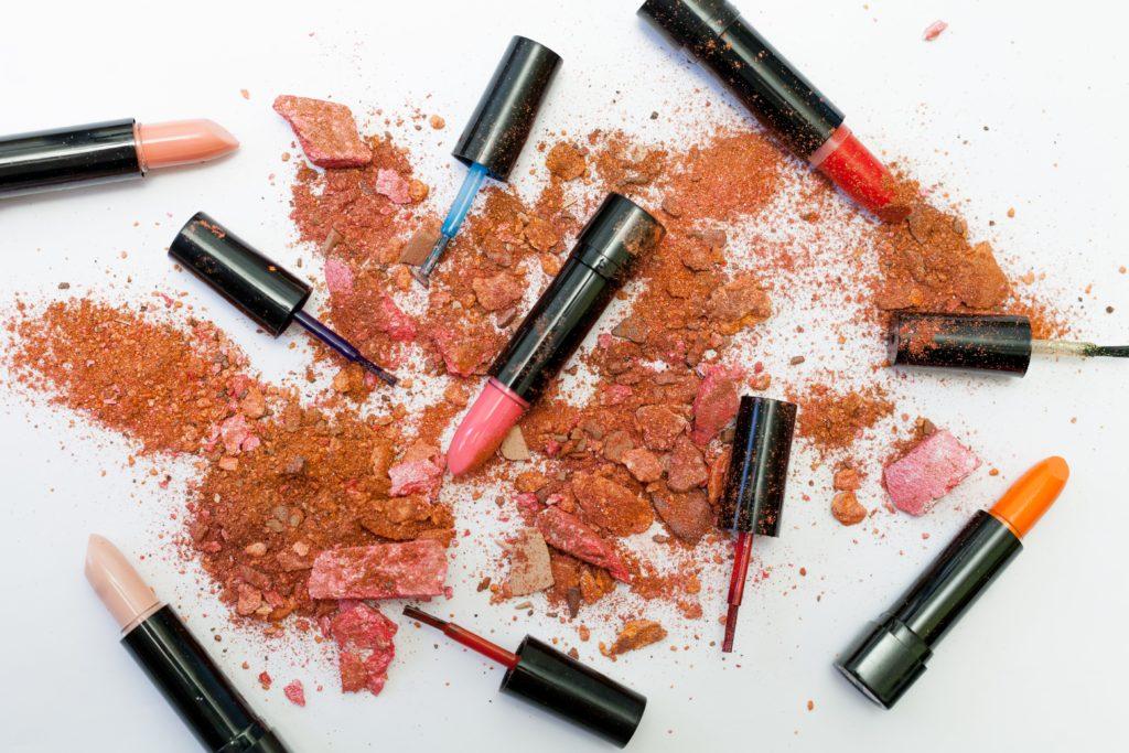 Make Up Test Farbtöne