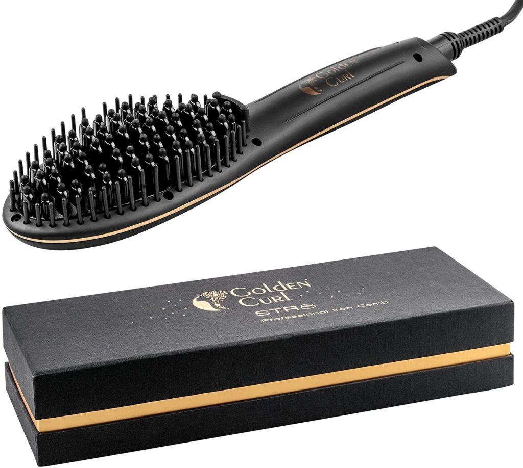 Golden Curl STR8 Glättungsbürste