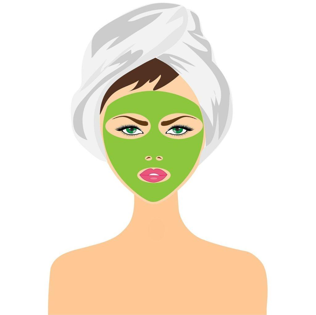 Gesichtsmaske richtig auftragen